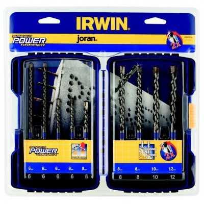 Zestaw wierteł do betonu Speedhammer Power 9szt. Irwin 10507538