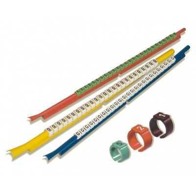 Oznacznik kablowy PLIOSNAP+ PS-15 ''9'' WH 50szt. SES-Sterling 37400700019