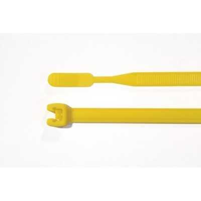 Opaska kablowa 195x2,6mm Q18L-PA66-YE 100szt. HellermannTyton 109-00160