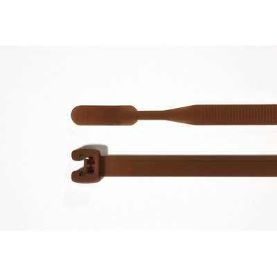 Opaska kablowa 210x4,7mm Q50R-PA66-BN 100szt. HellermannTyton 109-00181