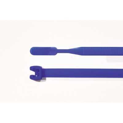 Opaska kablowa 210x4,7mm Q50R-PA66-BU 100szt. HellermannTyton 109-00182