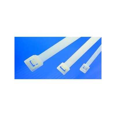 Opaska kablowa rozpinalna 340x7,6 RLT120-N66-NA 100szt. HellermannTyton 111-70319
