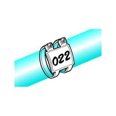 Opaska identyfikacyjna 205x4,7 IT50RD-PA66-NA 50szt. HellermannTyton 111-85219