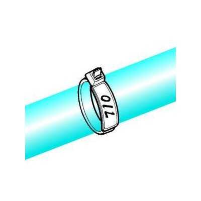 Opaska identyfikacyjna 390x4,7 IT50L-PA66-NA 100szt. HellermannTyton 111-85319