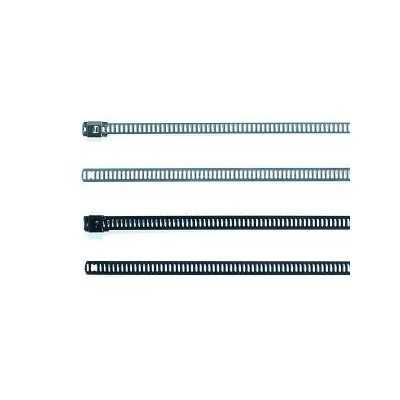 Opaska kablowa stalowa 330x12,0 MAT12SSC12-SS-BK 100szt. HellermannTyton 111-92122