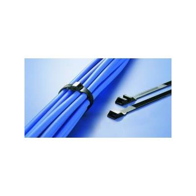Opaska kablowa 175x9,0 LPH175-W-BK 100szt. HellermannTyton 112-00203