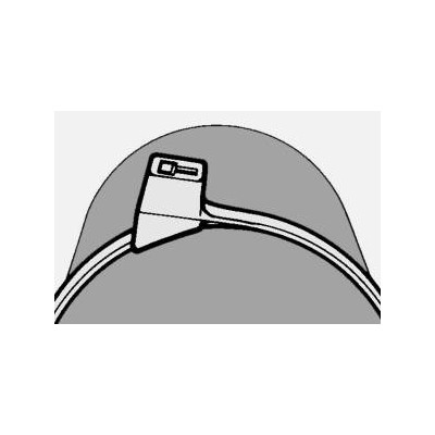 Opaska kablowa 205x4,7 CTT60R-HSW-BK 100szt. HellermannTyton 112-56060