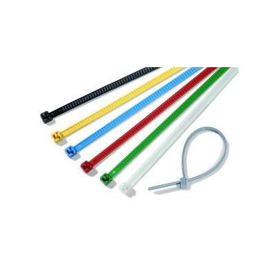 Opaska kablowa rozpinalna 196x4,8 LR55R-PA66-YE 25szt. HellermannTyton 115-00004