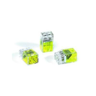 Złączki instalacyjne HelaCon HECP-2-PC-YE 100szt. HellermannTyton 148-90000