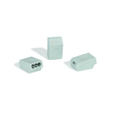 Złączki instalacyjne HelaCon HECE-3X1.5-PA-GY 100szt. HellermannTyton 148-90013