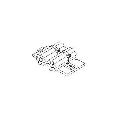 Listwa mocująca MSMP5-N66-NA 100szt. HellermannTyton 151-25519