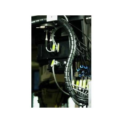 Wąż osłonowy Helawrap HWPP-30MM-PP-WH 25m HellermannTyton 161-64504