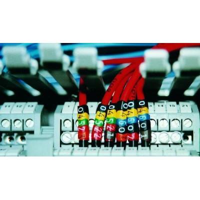 Oznacznik kablowy Helagrip HGDC1-3-PKT-PVC-YE 1000szt. HellermannTyton 515-01804
