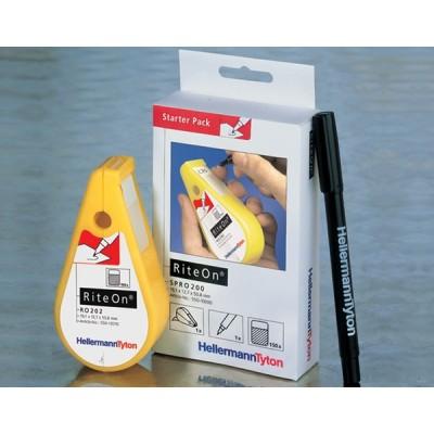 Starter Pack z etykietami samolaminującymi SPRO200-1401-WH HellermannTyton 550-14010
