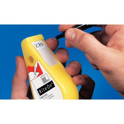 Dyspenser z etykietami samolaminującymi RiteOn RO202-1401-WH HellermannTyton 550-14012