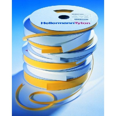 Koszulka termokurczliwa do nadruku TULT-3-1-24/8-PEX-BK 2x13m HellermannTyton 553-42400 553-42452