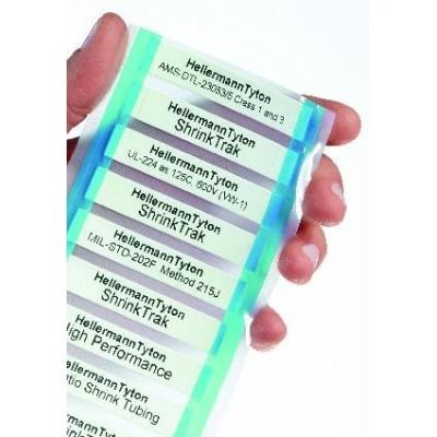 Oznacznik termokurczliwy ShrinkTrak HST24-8WH 250szt. HellermannTyton 553-50039