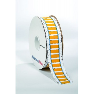 Oznacznik termokurczliwy TLFX254DS-2x25YE 2000szt. HellermannTyton 553-60036