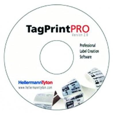 Program do projektowania oznaczeń TagPrint Pro 2.0 HellermannTyton 556-00049