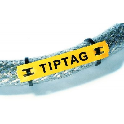 Szyld oznaczeniowy TIPTAG-HF-15X65-POYE 190szt. HellermannTyton 556-21064