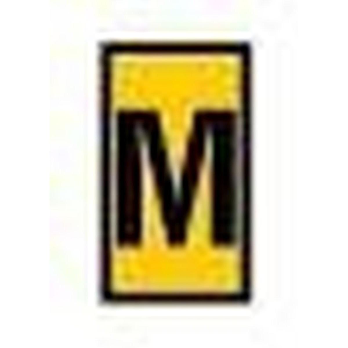 Oznacznik kablowy WIC1-M-PA-YE 200szt. HellermannTyton 561-01134