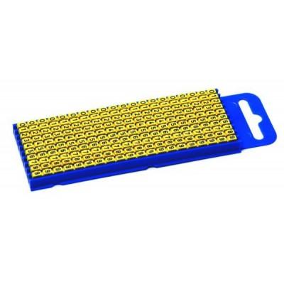 Oznacznik kablowy WIC2-W-PA-YE 200szt. HellermannTyton 561-02234