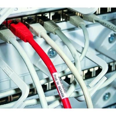 Etykieta samoprzylepna Helatag TAG6TD1-1209-WHCL 500szt. HellermannTyton 596-11209