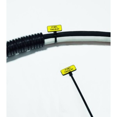 Etykieta samoprzylepna Helatag TAG28-16TD1-1211-YE 2500szt. HellermannTyton 596-12115