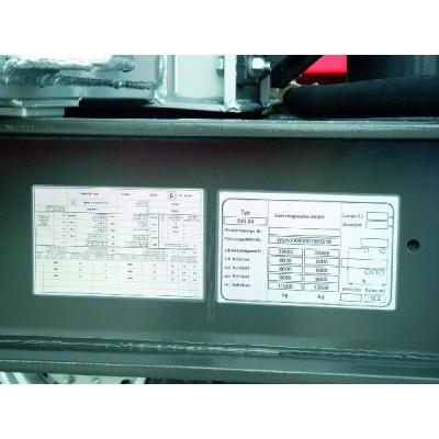 Etykieta samoprzylepna Helatag TAG25.4-12.7TD1-951 SET 1000szt. HellermannTyton 596-44951