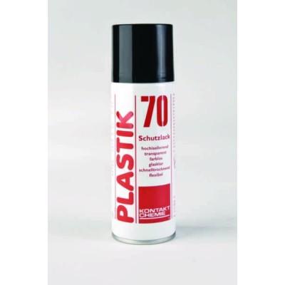 Środek antykorozyjny spray PLASTIK 70 200ml 12szt. Kontakt Chemie 935-10019, 74309