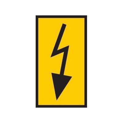 Oznaczniki do przewodów i kabli WIC1-Lightning-PA-YE 200szt. HellermannTyton 561-01764