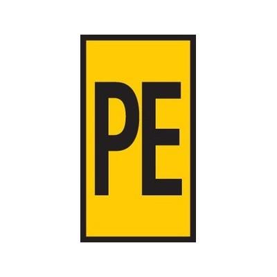Oznaczniki do przewodów i kabli WIC0-PE-PA-YE 200szt. HellermannTyton 561-00344