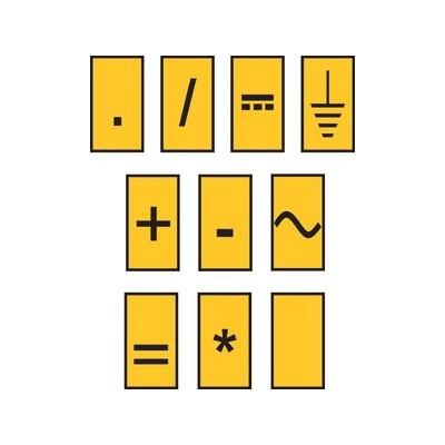 Zestaw oznaczników kablowych WIC0-SIGN-PA-YE 200szt. HellermannTyton 561-00004