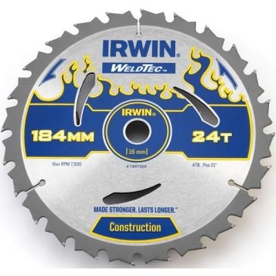Piła tarczowa WeldTec do drewna 165x18T Irwin 1897392