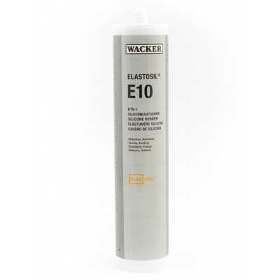 Uszczelniacz silikonowy ELASTOSIL E10 ROT 310ml Wacker Chemie RTV-1 60008050