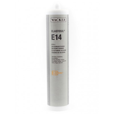 Klej silikonowy ELASTOSIL E14 ROT 310ml 25szt. Wacker Chemie RTV-1 60008097