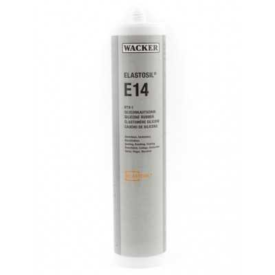 Klej silikonowy ELASTOSIL E14 ROT 310ml Wacker Chemie RTV-1 60008097