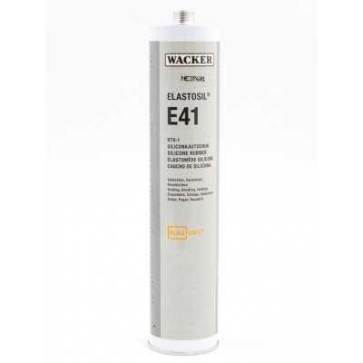 Klej silikonowy ELASTOSIL E41 TRANSPARENT 310 ml Wacker Chemie RTV-1 60008053