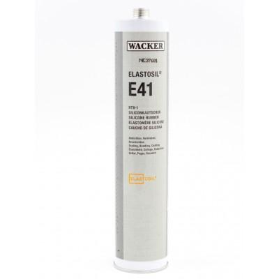 Klej silikonowy ELASTOSIL E41 TRANSPARENT 310ml 25szt. Wacker Chemie RTV-1 60008053