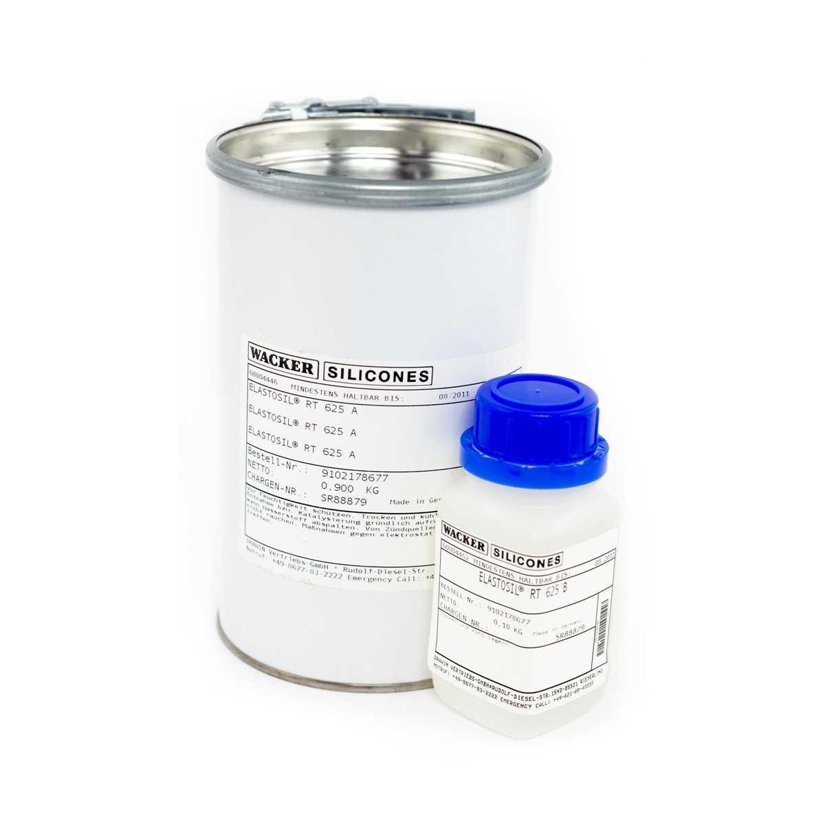 Zalewa silikonowa ELASTOSIL RT 625 A/B 1kg Wacker Chemie RTV-2 60004446 60004452