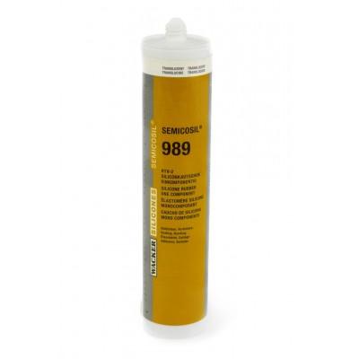 Klej silikonowy SEMICOSIL 989/1K TRANSPARENT 310ml 25szt. Wacker Chemie RTV-2 60008517