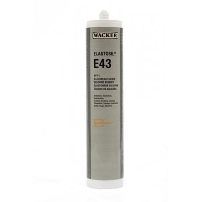 Klej silikonowy ELASTOSIL E43 TRANSPARENT 310ml Wacker Chemie RTV-1 60082068
