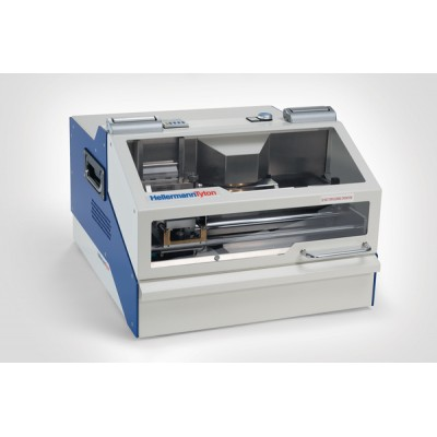 Wynajem - Urządzenie do automatycznego wytłaczania oznaczeń na szyldach metalowych MBOSS Compact HellermannTyton 544-20000