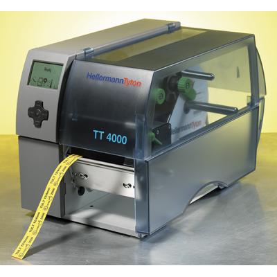 Wynajem - Przemysłowa drukarka termotransferowa stołowa, jednostronna TT4000-3 HellermannTyton 556-04019