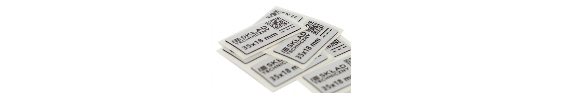 Etykiety panelowe z indywidualnie zaprojektowanym nadrukiem